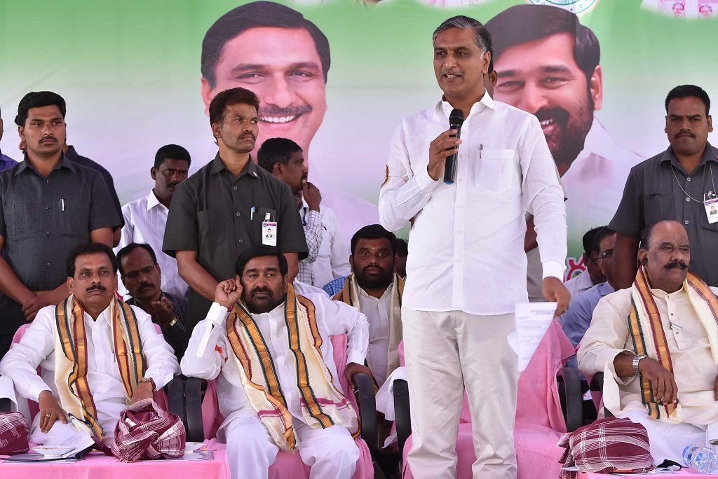Harish Rao asks Congress to end opportunistic politics