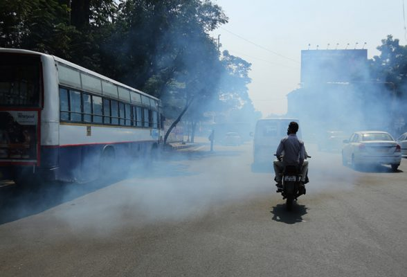 polluting buses