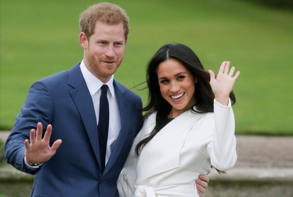 Harry and pregnant Meghan