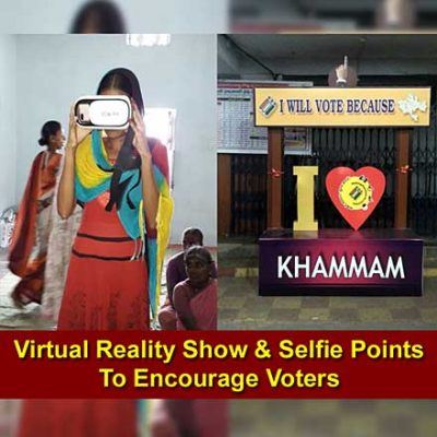 Innovative measures are encouraging people to vote