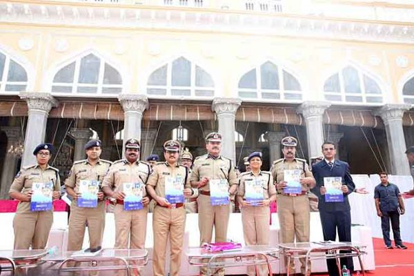 Crime rate down by 6 per cent in Hyderabad