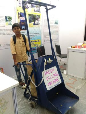 Mother's struggle inspires this boy to invent paddy filling machine