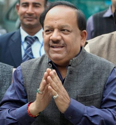 Health Minister Harsh Vardhan launches 'Trans-Fat Free' logo