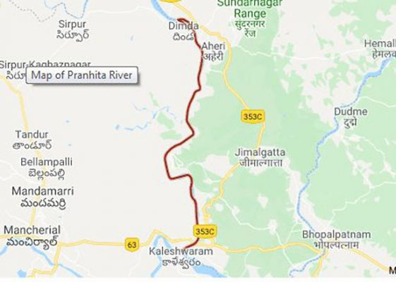 Two forest officials feared drowned in Pranahita on borders of Telangana