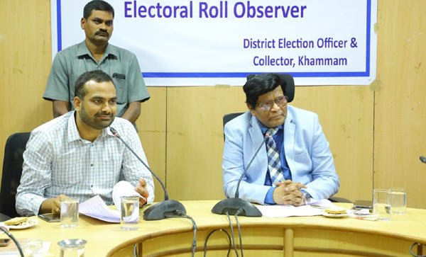 Khammam Collector urged for effective summary revision of electoral rolls