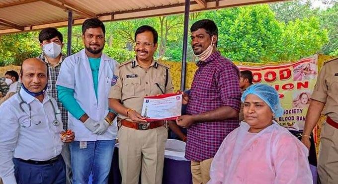 For Mahesh Talari, social service is in his 'blood'