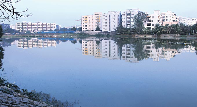 Novel attempt to revive lake in Hyderabad
