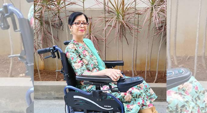 Santoshi Naropanth talks about facing challenges head on