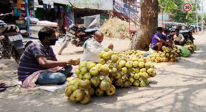 Telangana: No takers for ice apples, toddy in Mancherial