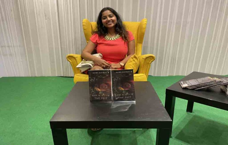 Raywa Ravipati recently launches book titled 'Mirages of the Past'