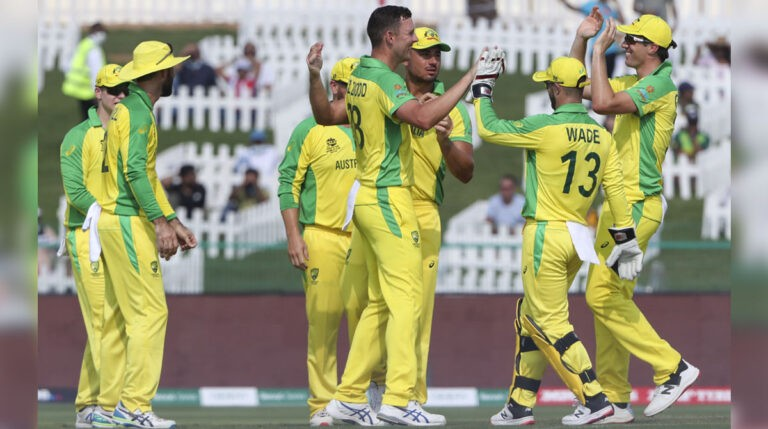 T20 World Cup: Australia begin with a nervy five-wicket win over South Africa