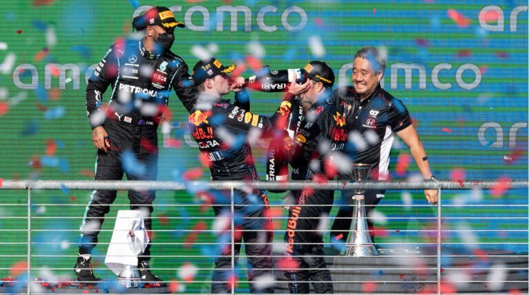 US Grand Prix: Max Verstappen extends lead with a riveting win