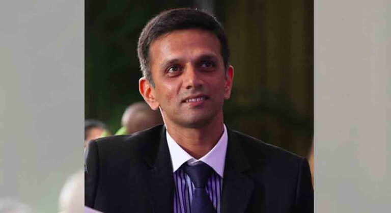 Rahul Dravid formally applies for head coach's post