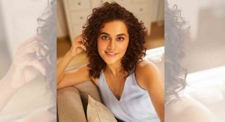 Taapsee pens the foreword for book on women